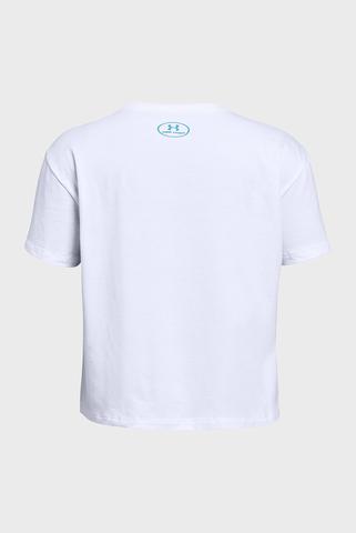 Детская белая футболка UA Here To Shine SS Tee Under Armour