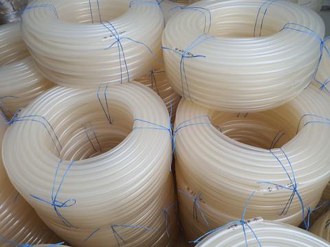 Шланг Ø 18 мм толщина стенки 3 мм прозрачный силиконовый (50 м в бухте)