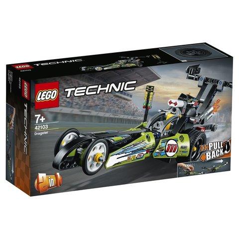 LEGO Technic: Драгстер 42103 — Dragster — Лего Техник