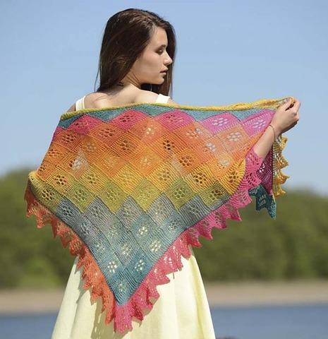 Набор для вязания платка