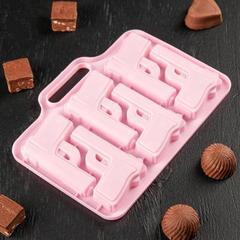 Форма для льда и шоколада «Пистолет», фото 1