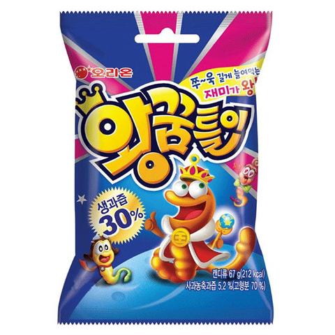 Жевательный мармелад Orion King Jelly с фруктовым вкусом 67 гр