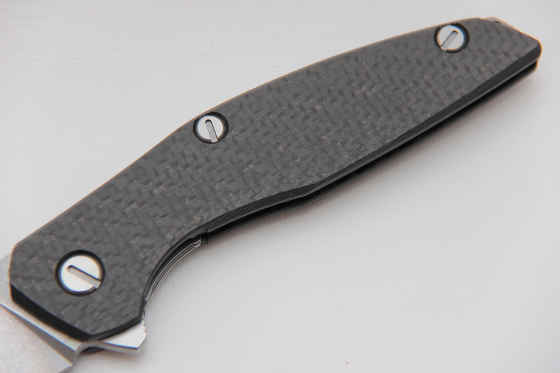 Нож Широгоров 111 карбоновая рукоять М390 - фотография