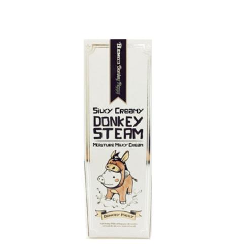 ELIZAVECCA Donkey Piggi Крем для кожи молочный увлажняющий Silky Creamy Donkey Steam Moisture Milky Cream 100 мл