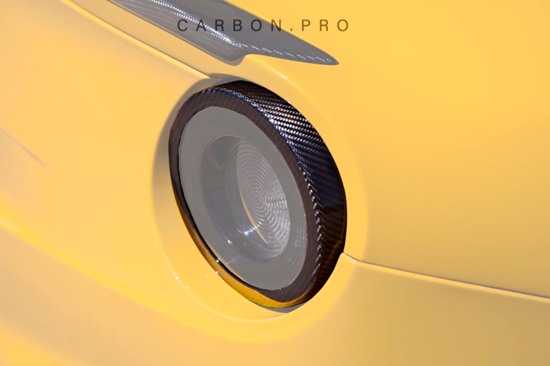 Карбоновые накладки на задние фонари Novitec Style для Ferrari F12 Вerlinetta