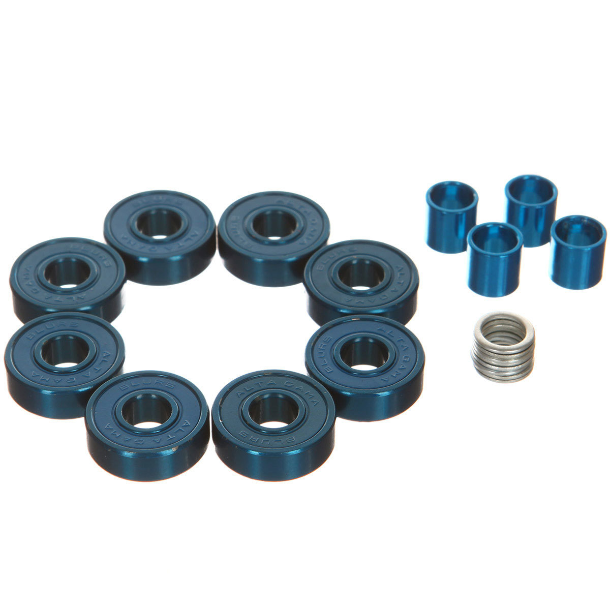 Подшипники для скейта BLURS Titanium Blue