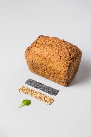 Хлеб безглютеновый «Зеленая гречка - мак», 450 г
