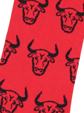 Носки Бык красный
