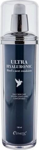 ЛАСТОЧКА/ГИАЛУРОН Эмульсия для лица Ultra Hyaluronic acid Bird's nest Emulsion, 130 мл, ESTHETIC HOUSE