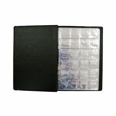 Альбом для монет, 125х175мм, 8 листов, комбинированный, 108 монет
