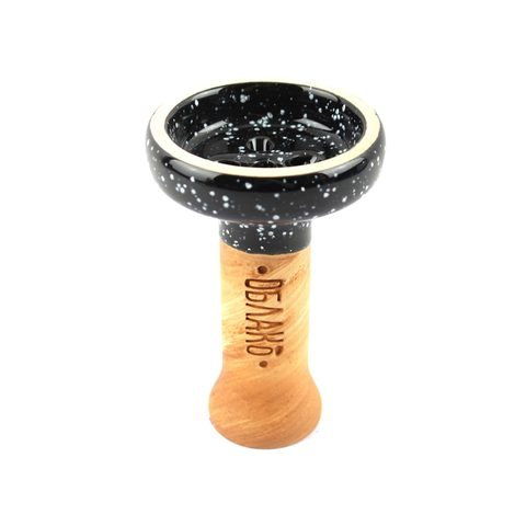 Oblako Black Glaze top Black Cosmos