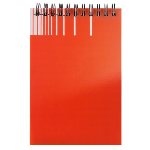Gus Waterproof Notebook, orange