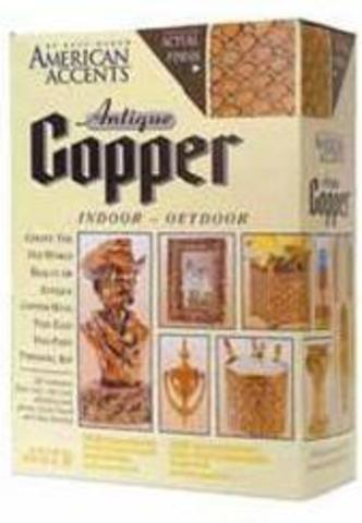 AMERICAN ACCENTS Antique Copper Kit Античная медь (аэрозоль+банка)