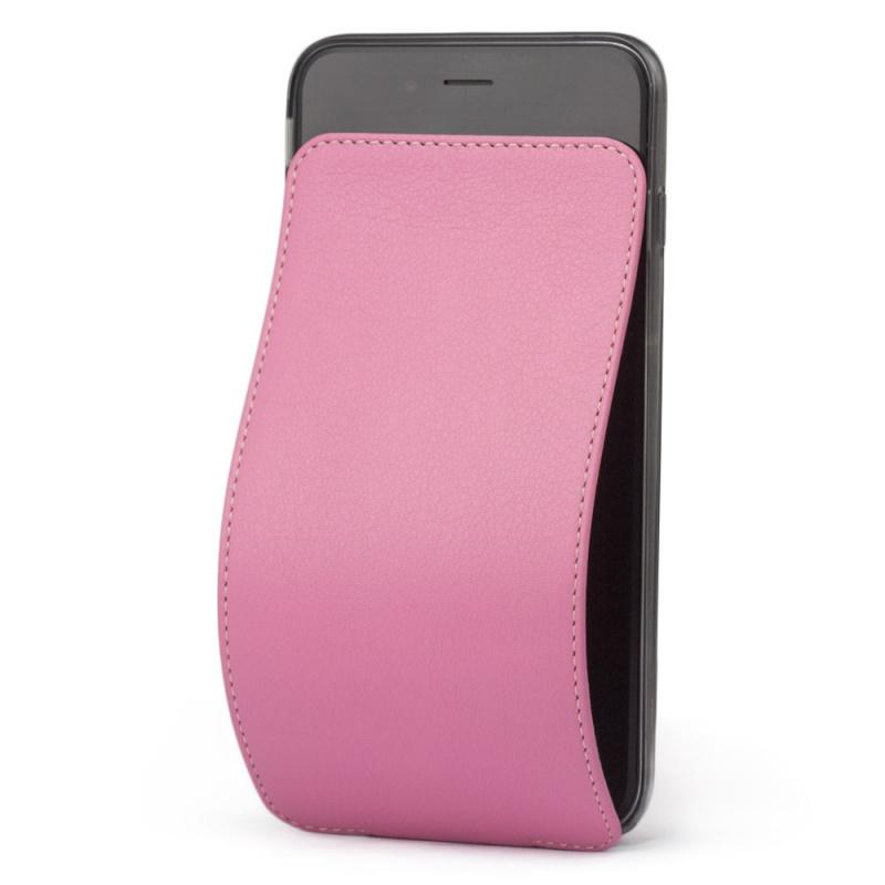 Чехол для iPhone 6/6S Plus из натуральной кожи теленка, розового цвета