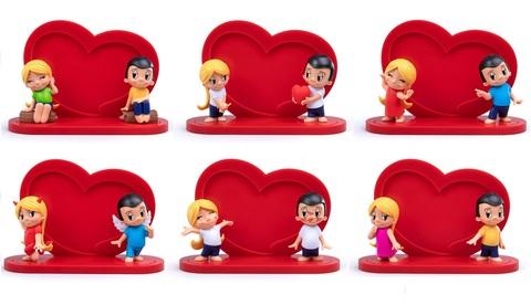 Love is... набор фигурок