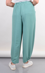 Фантазія. Літні жіночі штани великий розмір. М'ята.