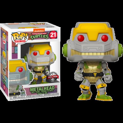 Фигурка Funko Pop! Retro Toys: Teenage Mutant Ninja Turtles - Metalhead (Excl. to Target)