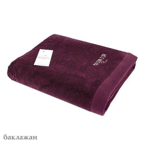 ADVEND - АДВЕНД  баклажан полотенце махровое Maison Dor(Турция) .