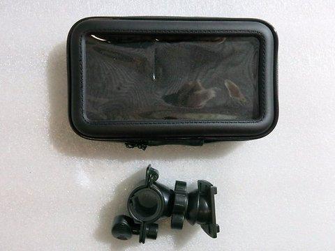Чехол на руль мотоцикла для телефона GPS навигатора 5,5