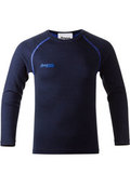 Bergans термобелье 1873 Akeleie Kids Shirt Navy/Warm Cobalt