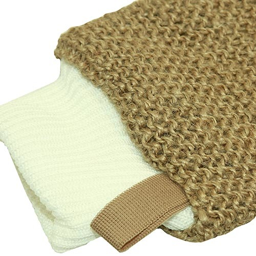 джутовая рукавица