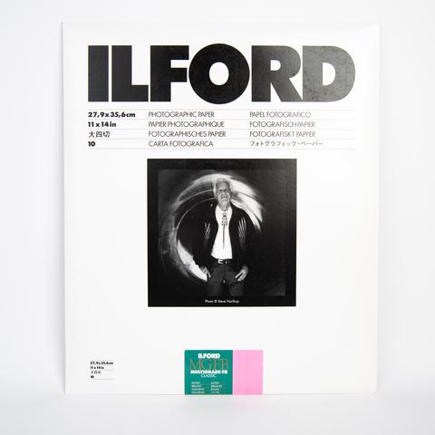 Фотобумага Ilford MG баритовая, 27.9 x 35,6 см, глянцевая, 10 листов