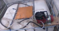 Перевозка рыбы с помощью компрессора Hailea aco-007 24v в резервуарах