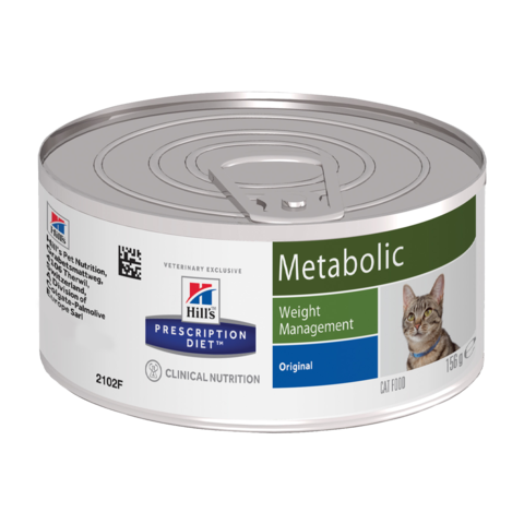 Hill's Prescription Diet Metabolic Консервы для кошек при коррекции веса