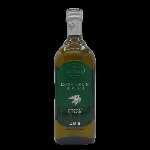 Масло оливковое холодного отжима нерафинированное OLITALIA, 1л