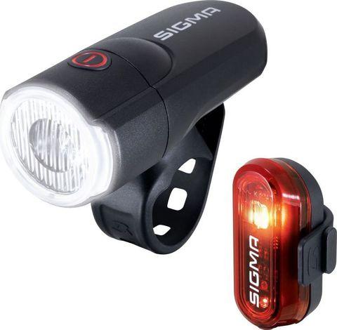 Комплект освещения SIGMA SPORT AURA 30/CURVE с батарейками