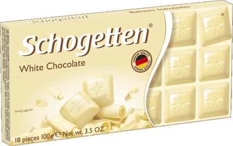 Шоколад белый Schogetten White 100 гр