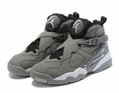 Air Jordan 8 Retro 'Grey/White'