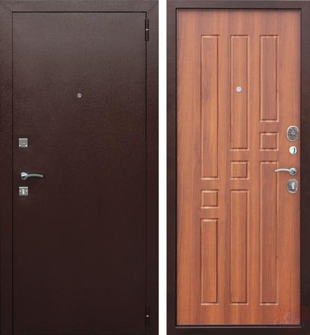 Входная дверь F12 (Итальянский орех). ЦЕНА - С УСТАНОВКОЙ!