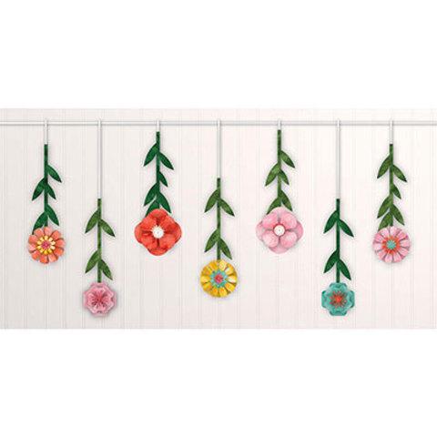 Гирлянда с подвесками Цветочный Вальс
