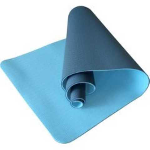 Коврик для йоги YM302 двухсторонний