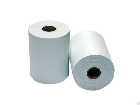 Ролики из термобумаги (длина 30 м, втулка 12 мм). Термобумага для медицинских приборов L=57 mm 1 рулон (Б57М)