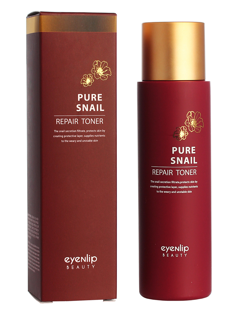 Тонеры для лица Тонер для лица EYENLIP PURE SNAIL REPAIR TONER 150 ml EYENLIP_Pure_Snail_Repair_Toner_150_ml.jpg