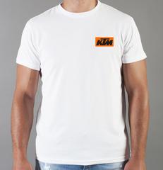 Футболка с принтом KTM (KTM AG) белая 009