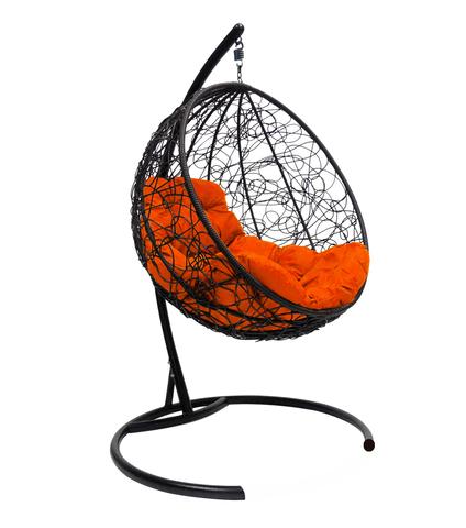 Кресло подвесное Milagro black/orange