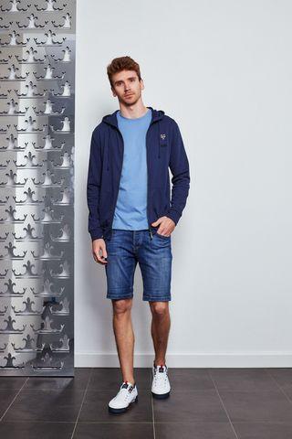 Trussardi Jeans Бомбер с лого