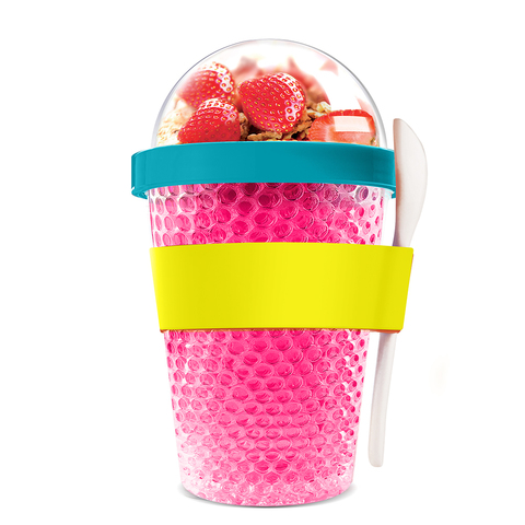 Контейнер Asobu Chill yo 2 go (0,38 литра), розовый