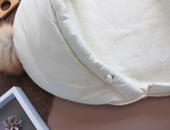 Конверт кокон молочный (Размер 0-6 мес)