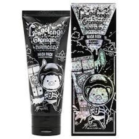 Бриллиантовая маска- пленка Elizavecca Milky Piggy Hell-Pore Longo Longo Gronique Diamond Mask Pack