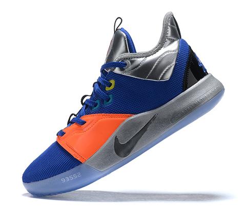 Nike PG 3 'NASA/Blue/Orange'