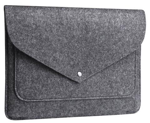 Серый чехол Gmakin для MacBook