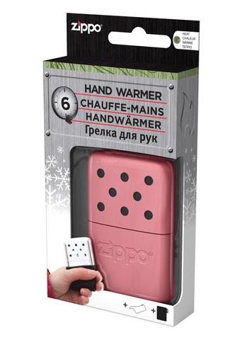 Каталитическая грелка Zippo, сталь с покрытием Pink, розовая, матовая, 51x15x74 мм123