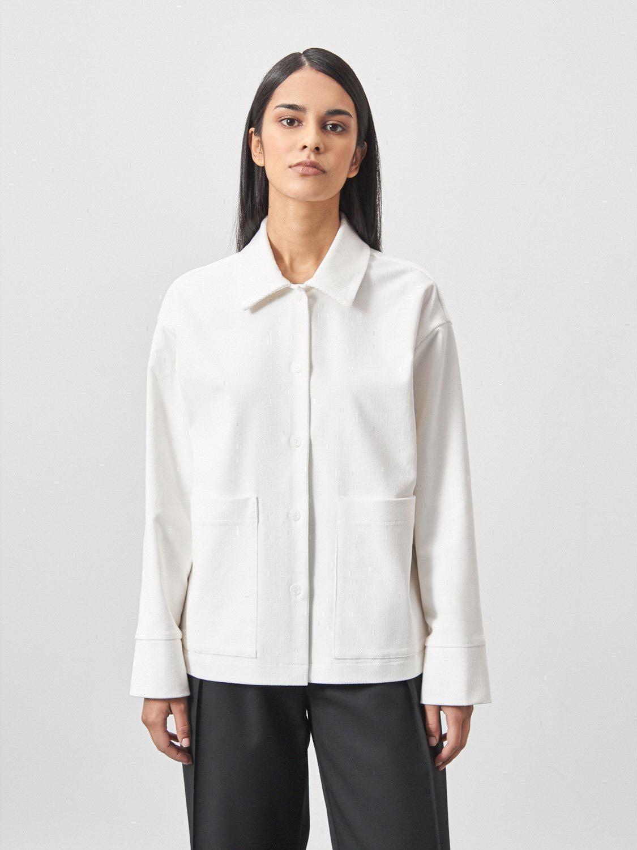 Рубашка Cleo прямая с карманами снизу