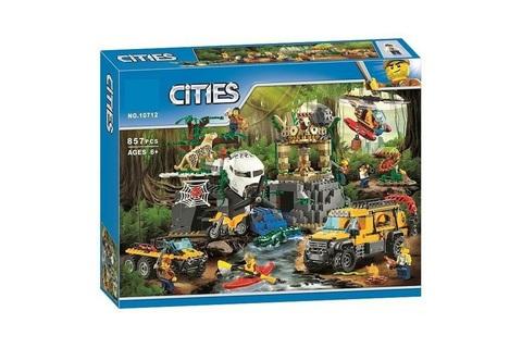 Конструктор Cities 10712 База исследователей джунглей