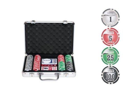 Покерный набор NUTS на 200 фишек комплектация
