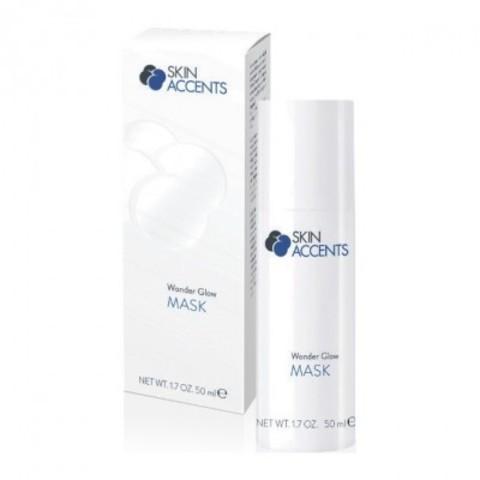 INSPIRA MED: Роскошная маска для сияния кожи лица (Wonder Glow Mask), 50мл/100мл